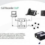 Recording voip phones